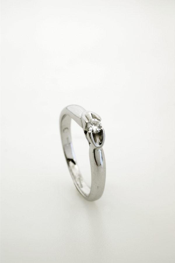 """Anello """"Cosmic"""" con diamantino"""